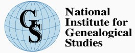 National Institute for Genealogical Studies